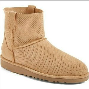 UGG classic unlined mini perf boots